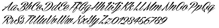 Cellos Script™ Font Sample