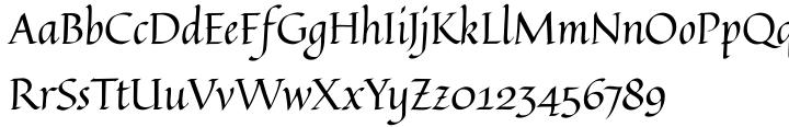 Quintessential Pro Font Sample