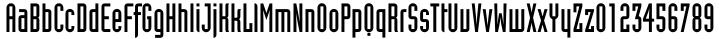 Industria® Font Sample