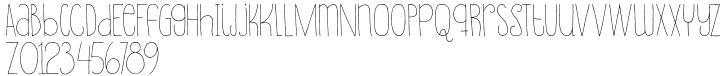 Souplesse Font Sample