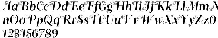 Naiad Font Sample