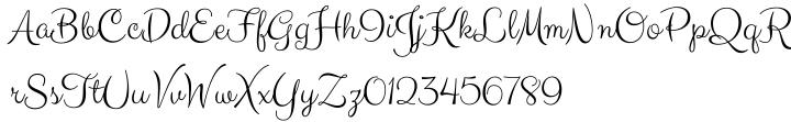 Carioca Script Pro Font Sample