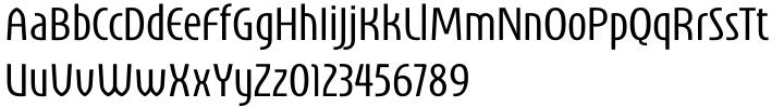 Unico™ Font Sample