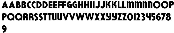 Double Bill JNL Font Sample