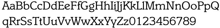 Italia™ Font Sample