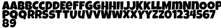 Luckiest Softie Pro Font Sample
