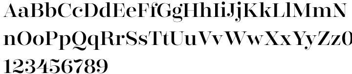 Encorpada Classic Font Sample