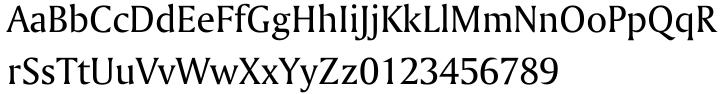 Amerigo BT™ Font Sample