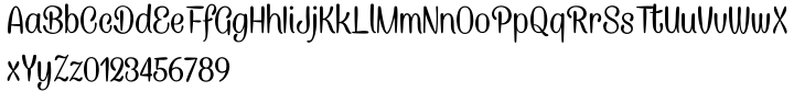 Caneletter Font Sample