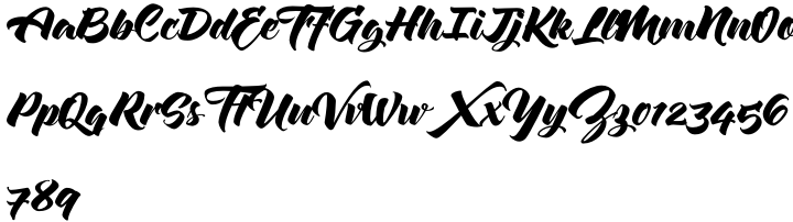 Zulia Pro Font Sample