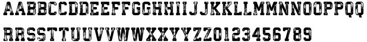 Athletico Font Sample