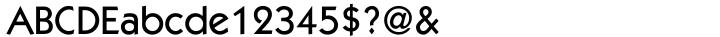 ITC Kabel® Font Sample