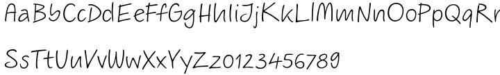ALS Scripticus™ Font Sample