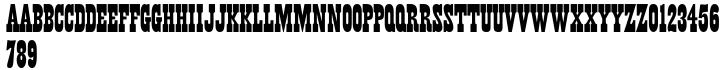 Wood Factory™ Font Sample