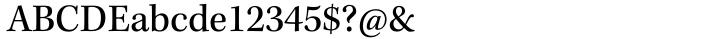 Kepler® Font Sample