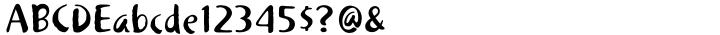 Khaki™ Font Sample