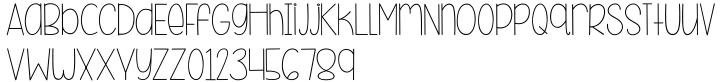 KG Beneath Your Beautiful Font Sample