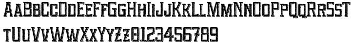 Portsmouth Second Fleet™ Font Sample