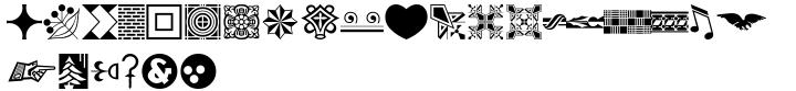 Print Spots JNL Font Sample