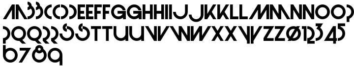 Monolite Font Sample