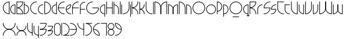 Milkyway Hotel Font Sample