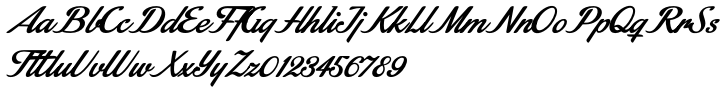 Stainy Font Sample