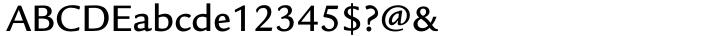 ITC Legacy Sans® Font Sample