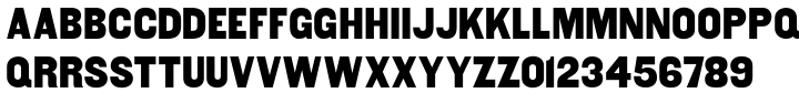 MPI Gothic Font Sample