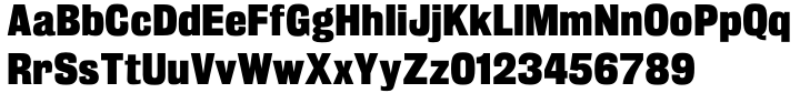 Trooper Grotesque Font Sample