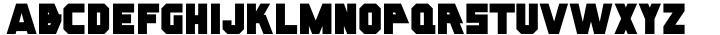 Oven Plate JNL Font Sample