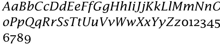Lucida Math® Font Sample