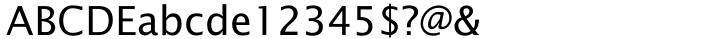 Lucida Sans® Font Sample