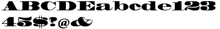 Madrone® Font Sample