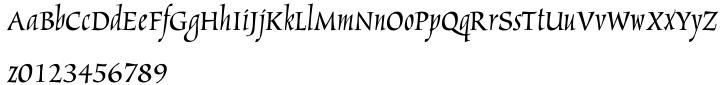 Marigold™ Font Sample