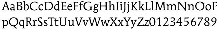 ITC Mendoza Roman® Font Sample