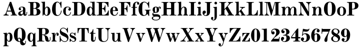 Monotype Modern™ Font Sample