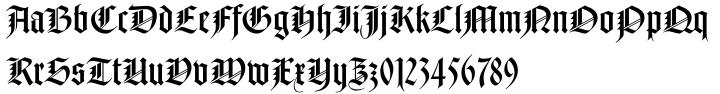 Notre Dame™ Font Sample