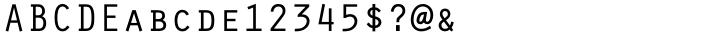 Orator™ Font Sample