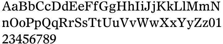 Olympian® Font Sample