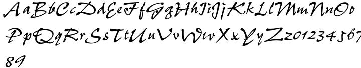 Pepita MT® Font Sample