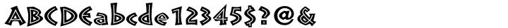Pompeia™ Font Sample
