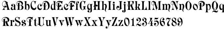 Raphael Font Sample