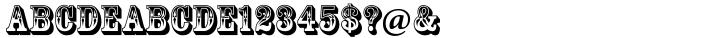 Rosewood® Font Sample