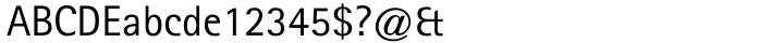Rotis SansSerif® Font Sample
