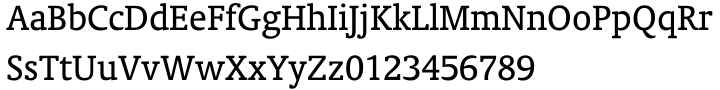 Oranda™ Font Sample
