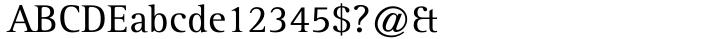 Rotis Serif® Font Sample