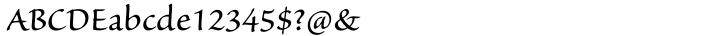 Sanvito Pro® Font Sample