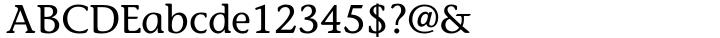ITC Stone Informal® Font Sample