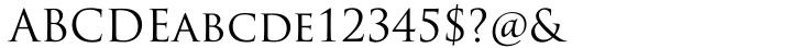 Trajan Pro™ Font Sample