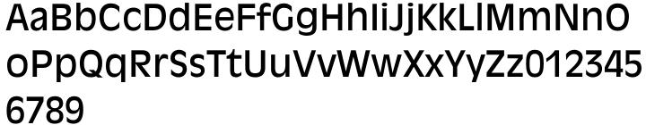 Antique Olive® Font Sample